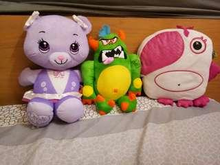 Doodle Bear, Doodle Monster and Inkoos