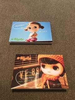 BLYTHE Postcard Book Part 1 & 2