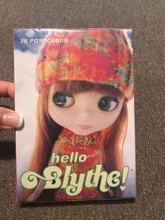 HELLO BLYTHE postcard