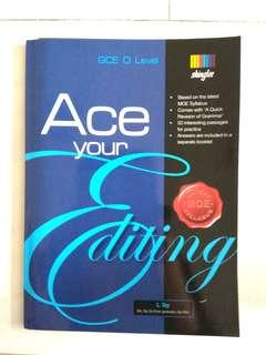 New!  GCE O Level ACE your editing