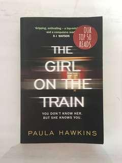 🚚 The Girl On The Train (tall paperback)