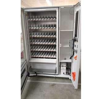 🚚 (P.O) Brand new Combo , drinks & snacks , chiller machine with elevator system , with LCD screen for advertising