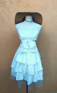 White Cute Dress (S-M)
