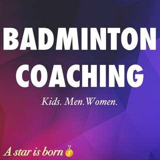 BADMINTON LESSON BADMINTON TRAINING BADMINTON COACHING BADMINTON CLASS KELAS BADMINTON YONEX VICTOR LI-NING  BADMINTON RACKET