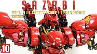 Formania EX Sazabi BNIB Original Bandai Gundam
