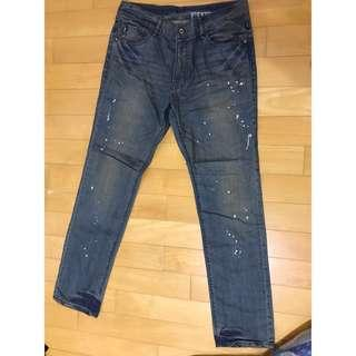 🚚 5th street 潑墨刷舊牛仔褲