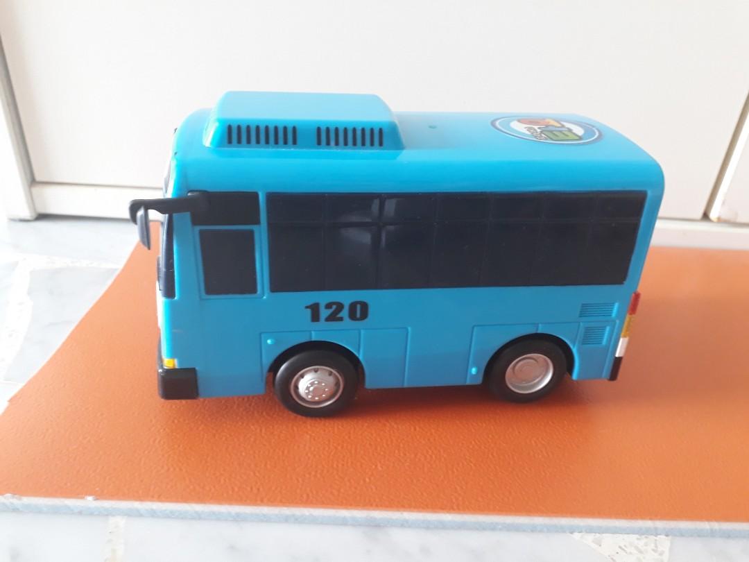 82a584020688ae 15cm Tayo Bus Blue Toy