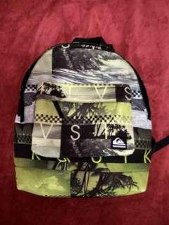 Quiksilver Backpack 100% Authentic