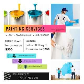 PAINTING SERVICE HDB, CONDO AND LANDED PROPERTY