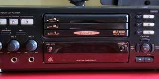 🚚 Old JVC XL-MV33 Video CD player