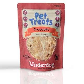 Underdog Crocodile Jerky Treats 60g