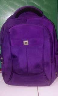 Tas Ransel Polo Classic warna ungu