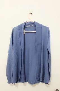 Uniqlo blue outer