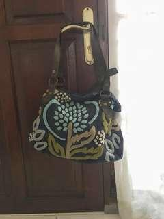 Shoulder bag handmade kristik