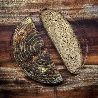 Whole-wheat sourdough
