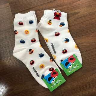 🚚 korean elmo socks