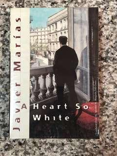 🚚 A heart so white by Javier Marias