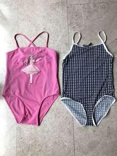 Girls Swim Suit 8-10y