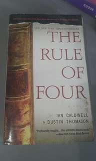 Rule of Four by Ian Caldwell and Dustin Thomason