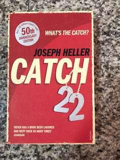 🚚 Mint condition! Catch-22 by Joseph Heller, 50th anniversary editiob