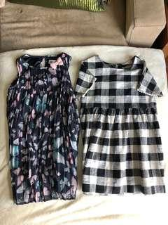 Kids Dress 5-6 years old H&M and Zara(SOLD)
