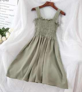 (freepostage) Green Dress