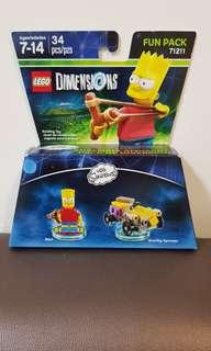 Lego Dimensions 71211 The Simpsons (Bart)