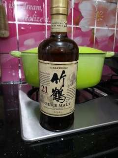 日本威士忌竹鹤21年