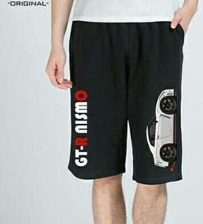 棉質薄料GTR短褲