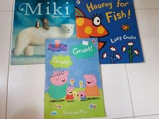 Hooray for fish, Peppa Pig and Miki