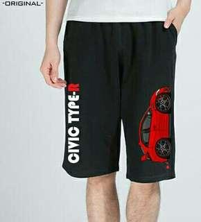 棉質薄料Civic TyoeR短褲