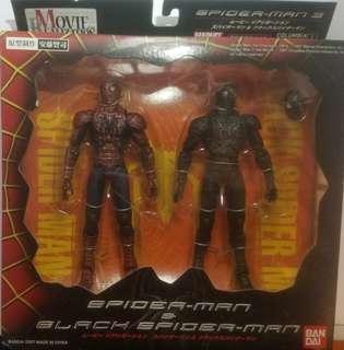 BANDAI 蜘蛛俠 黑蜘蛛 MOVIE REALIZATION MARVEL SPIDER-MAN & BLACK SPIDER-MAN