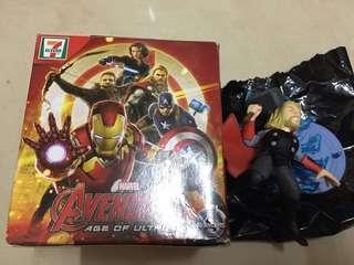 (購物可送)711 marvel avengers 復仇者聯盟 Thor hulk 雷神