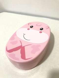 🚚 Cute Pink Lunch Box