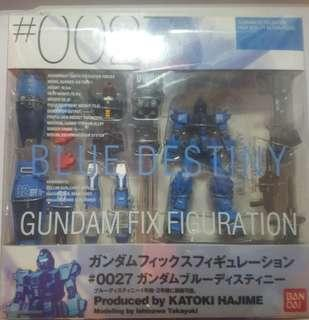 Gundam Fix Figuration GFF 0027 blue destiny