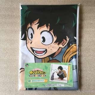 日本BANPRESTO一番賞 景品 A賞 我的英雄學院 僕のヒーローアカデミア Boku no Hero Academia 綠谷出 巨型掛布