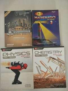 O Level/A Level useful textbooks @$5 each only!!