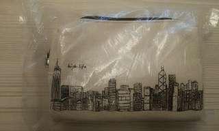香港航空 Hong Kong Airlines 商務艙 Business Class 個人護理套裝 Amenities Kit #MTRtko