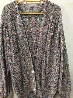 Vintage knitted cardigan/sweater