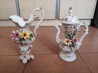 Decorative Floral teapot set #MakeSpaceForLove