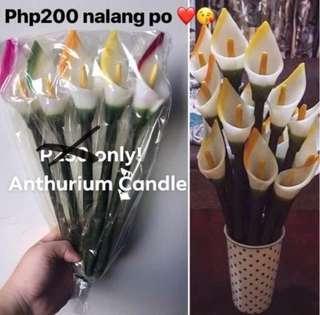 Scented Anthurium Candles 5pcs per pack