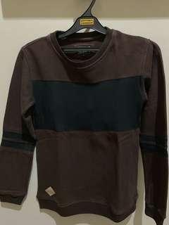 Sweater Coklat Crewneck Daydreamz