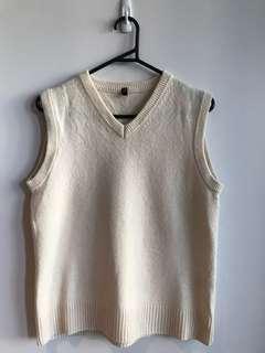 MUJI Unisex Wool Vest