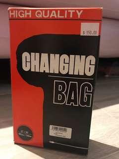 拆菲林黑袋 Film changing bag