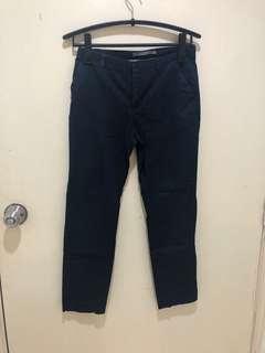 ZARA Navy Blue Pants Size EU36