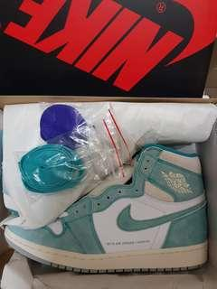 Original Air Jordan 1 Retro High OG Turbo Green