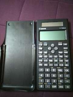 Canon calculator F-718SGA
