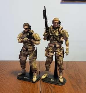 1:6 Scale Universal Soldiers (Set only)