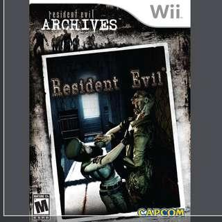 ORIG Wil Resident Evil Archived- Swipe photos
