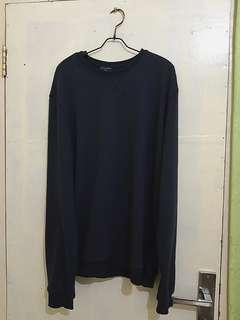 Sweater zalora navy blue